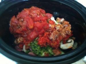 残っていた野菜を一掃!ラム肉のシチュー