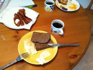 週末の朝ご飯の定番