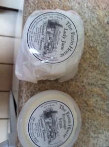 Farmhouse Natural Cheese Farm's yummy cheeses!