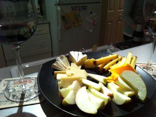 チーズとワイン三昧