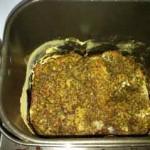 とってもいびつな形に焼き上がった低糖質パン