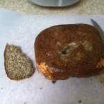 スライスしてみました、失敗作の低糖質パン