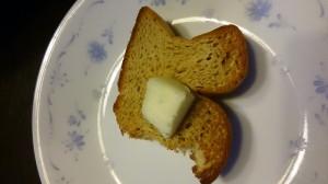 低糖質ブランパンでトーストを
