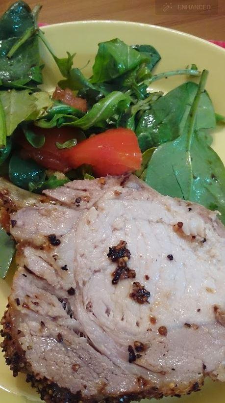how to cook pork loin roast bone in