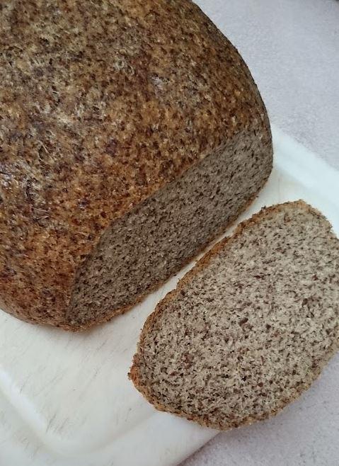低糖質おからパンの断面