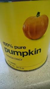 かぼちゃピュレーの缶