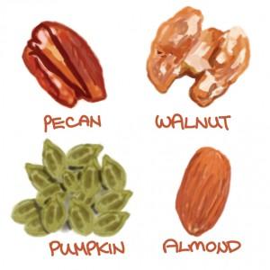 低糖質なナッツ