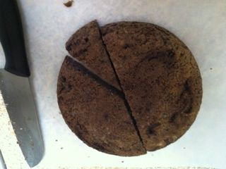 low carb chocolate okara cake in the rice cooker