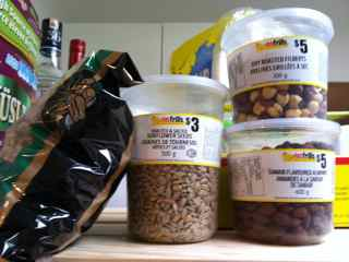 my pantry full of nuts