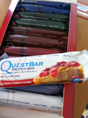 Questbar sample pack