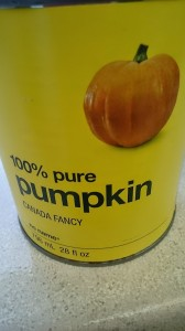 can of pumpkin