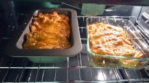 Regular Shepherds Pie and the low carb version
