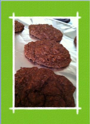 低糖質ココナッツチョコクッキー