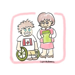 RDSP Cartoon (Registered Disability Savings Plan)