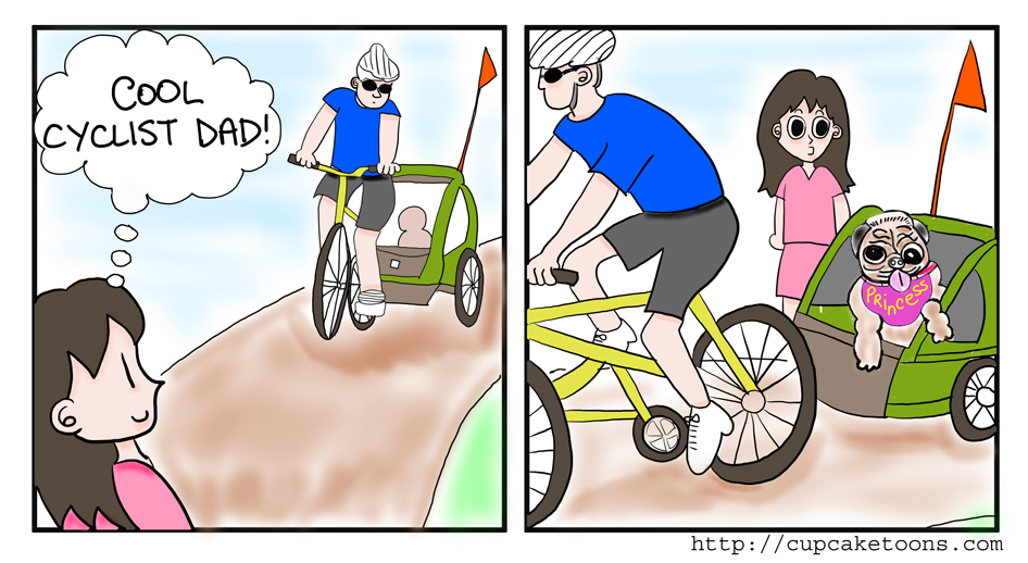 Cool Cyclist Dad