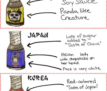 Asian Sauces made by White People