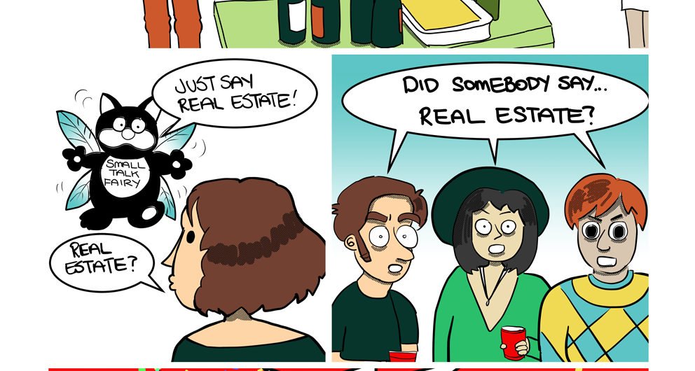 Vancouver House Party Cartoon