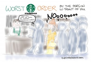 Worst Starbucks Order Cartoon