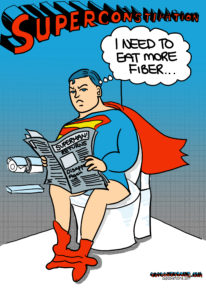 Super Constipation Cartoon