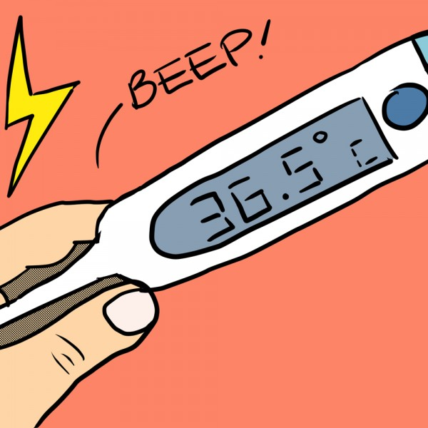Thermometer Illustration in Celsius