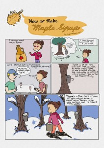 How to Make Maple Syrup - pg 1