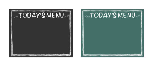 Today's Menu - Chalkboard Template for Powerpoint Presentations